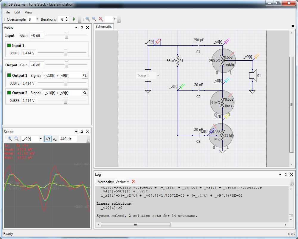 Livespice Free Wiring Schematic Program Dynamic Poteniometer Controls